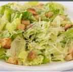 Crisp romaine hearts, croutons, parmesan with homemade creamy dressing